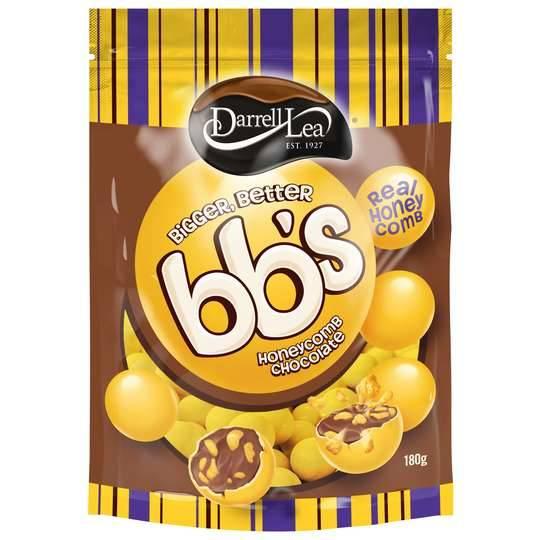 Darrell Lea Bb's Chocolate Balls Honeycomb