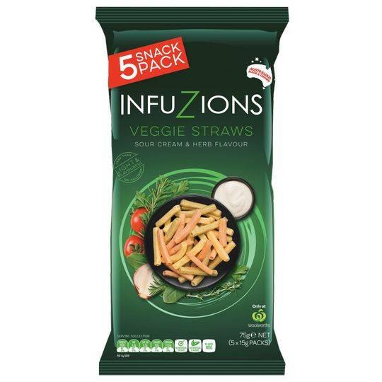 Majans Infuzions Veggie Straws
