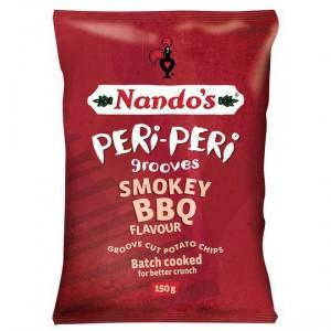 Nandos Peri Peri Grooves Smokey Bbq Chips