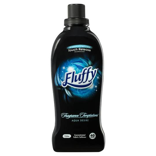 Fluffy Temptations Fabric Softener Aqua Desire