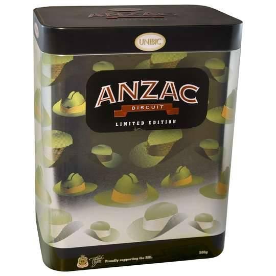 Unibic Anzac Tin Slouch Hat