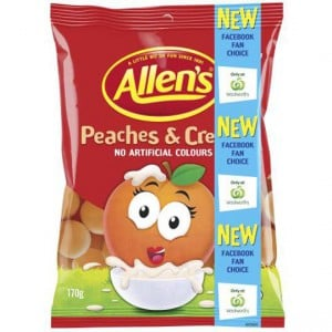 Allen's Peaches & Cream