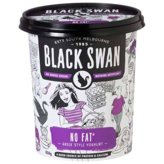 Black Swan Greek Yoghurt No Fat