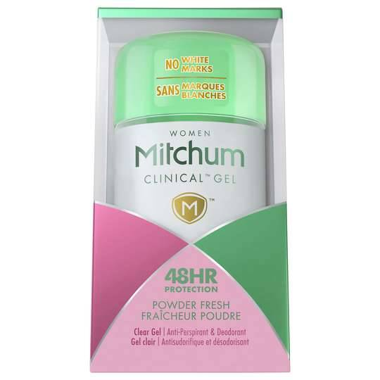 Mitchum Clinical Protection Gel Power Fresh