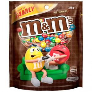 Mars M&m's Milk Chocolate