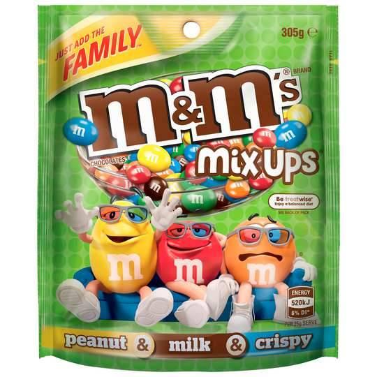 Mars M&m's Mix Ups