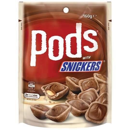 Mars Pods Snickers