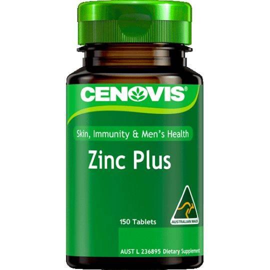 Cenovis Zinc Plus Skin Immunity & Men's Health