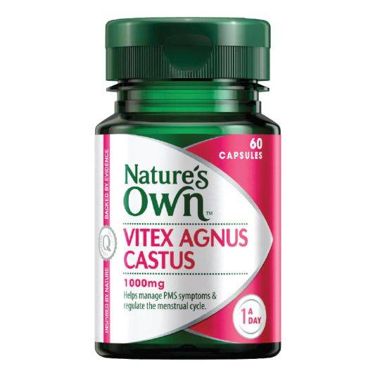 Nature's Own Vitex Agnus Castus 1000mg
