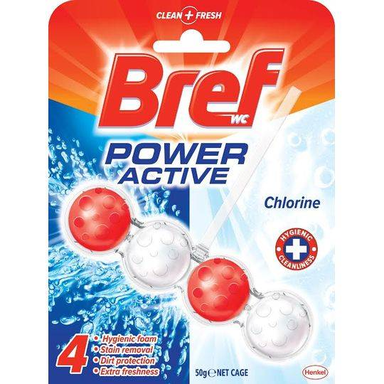 Bref Power Active Toilet Cleaner Active Chlorine 4 In