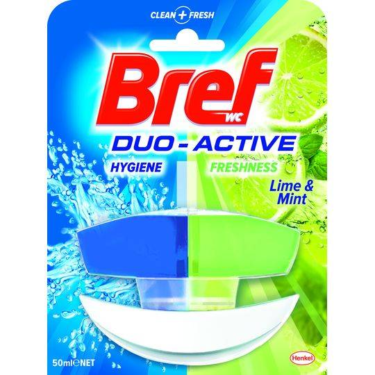 Bref Duo Active Toilet Cleaner Lime & Mint