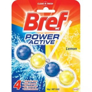 Bref Power Active Toilet Cleaner Lemon 4 In