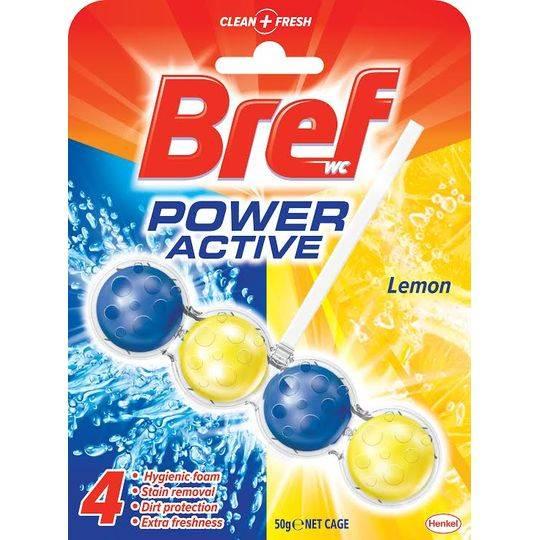 Bref Power Active Toilet Cleaner Lemon 4 In