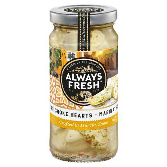 Always Fresh Marinated Artichoke Hearts