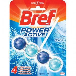 Bref Power Active Toilet Cleaner Ocean 4 In
