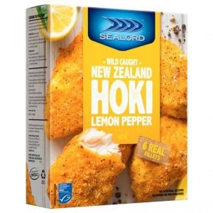 Sealord Hoki Fillets Lemon & Pepper