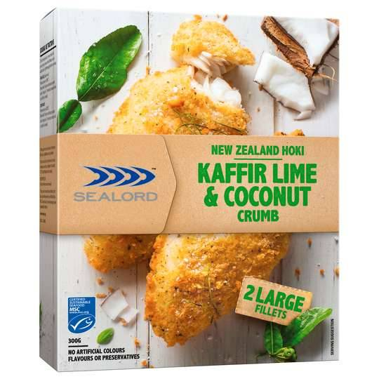 Sealord Hoki Fillets Premium Lime & Coconut