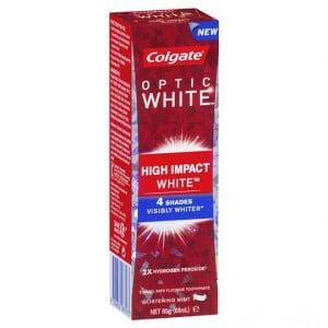 Colgate Optic White Toothpaste High Impact White Mint