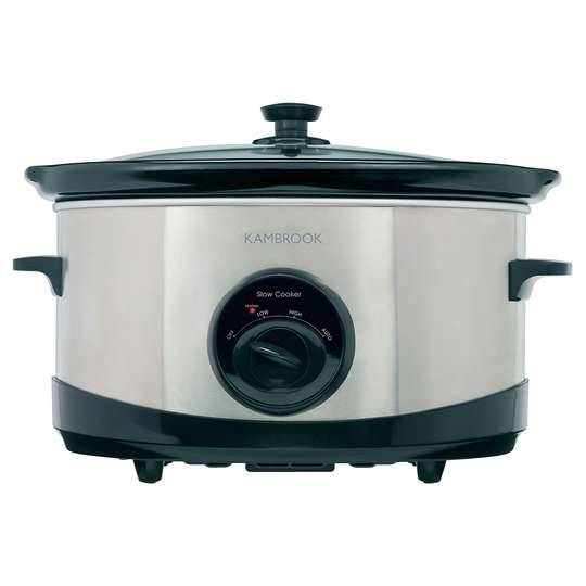 Kambrook Slow Cooker Stainless Steel