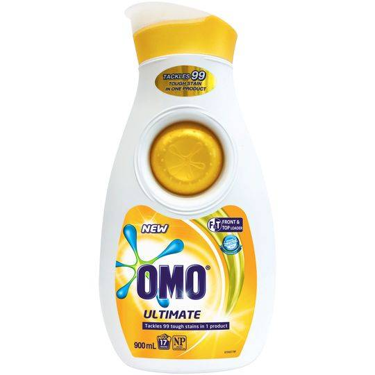 Omo Ultimate Laundry Liquid Detergent Front & Top Loader