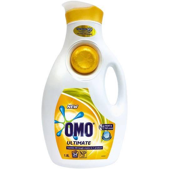 Omo Ultimate Laundry Liquid Detergent Front & Top Loader