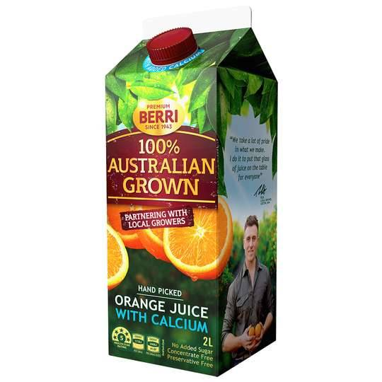 Australian Grown Orange & Vitamin C Juice
