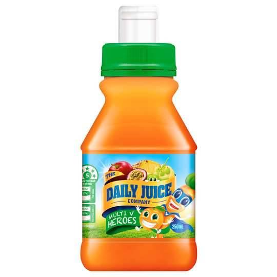 Daily Juice Kids Hidden Vegetables Pop Top Juice