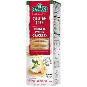Pacific Orgran Quinoa Wafer Crackers