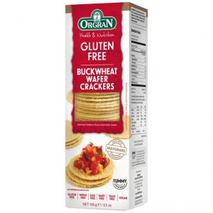 Pacific Orgran Buckwheat Wafer Crackers