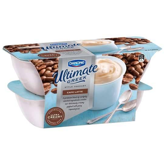 Danone Ultimate Cafe Latte Yoghurt