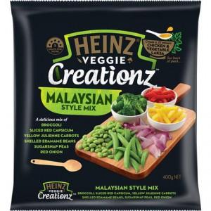 Heinz Creationz Frozen Vegetable Stir Fry Malaysian Style
