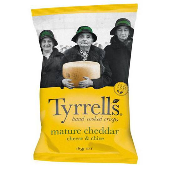 Tyrell's Chips Cheddar & Chives