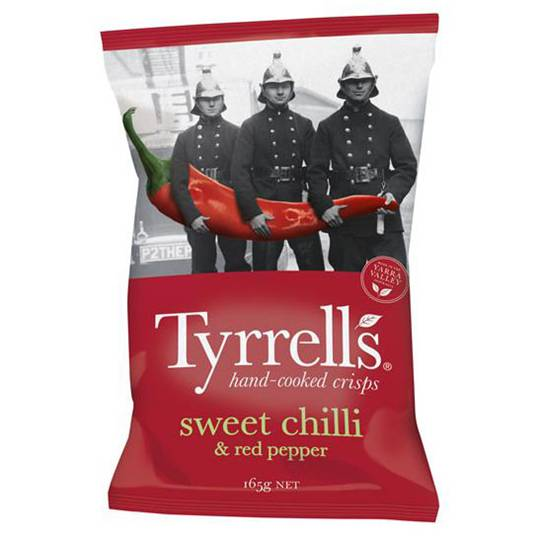 Tyrell's Chips Sweet Chilli & Pepper