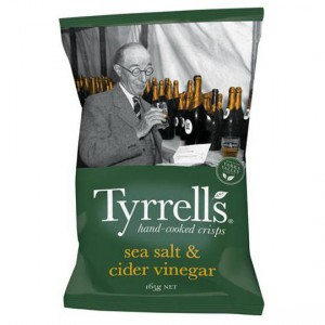 Tyrell's Chips Sea Salt & Vinegar