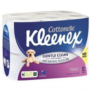 Kleenex Toilet Paper Print