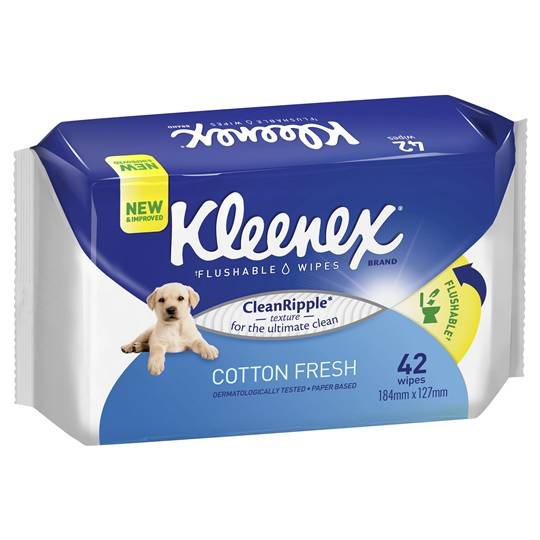 Kleenex Wipes Scented