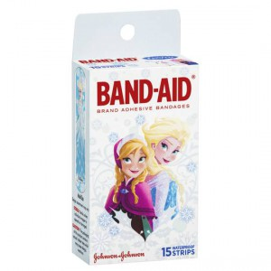 Band-aid Waterproof Kids Strips Frozen
