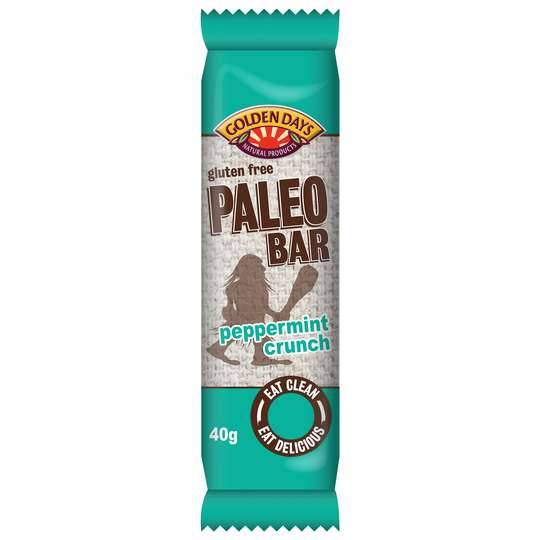Golden Days Paleo Bar Peppermint Crunch