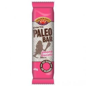 Golden Days Paleo Bar Almond Biscotti