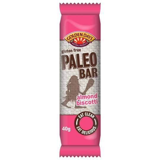 Golden Days Paleo Bar Almond Biscotti