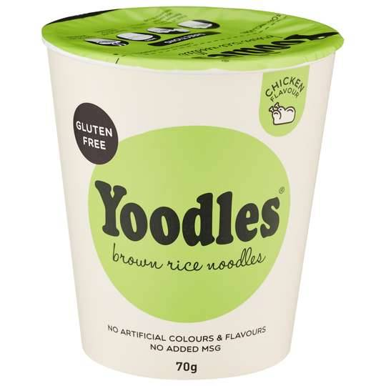 Yoodles Brown Rice Noodles Chicken