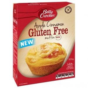Betty Crocker Apple Cinnamon Muffin Mix Gluten Free