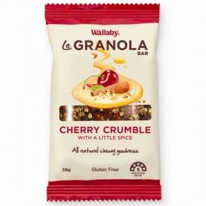 Wallaby Le Granola Bar Cherry Crumble