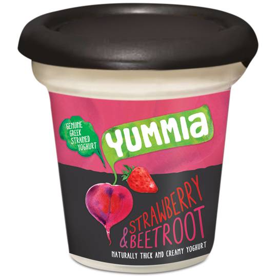 Yummia Yoghurt Strawberry & Beetroot