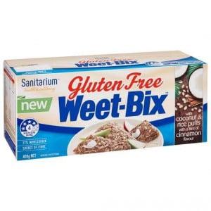 Sanitarium Weetbix Gluten Free Coconut & Rice Puffs