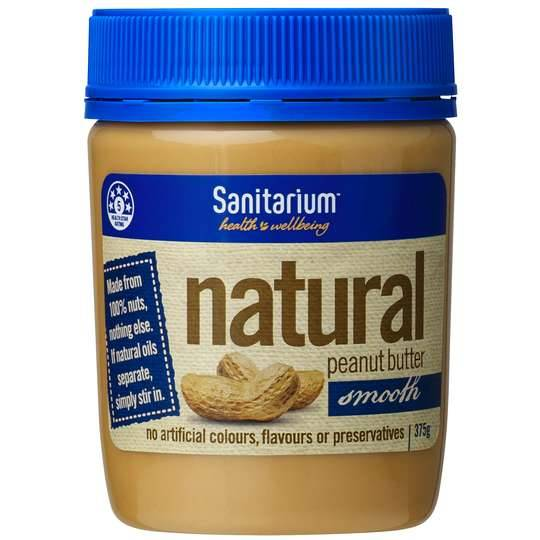 Sanitarium Peanut Butter Natural Smooth