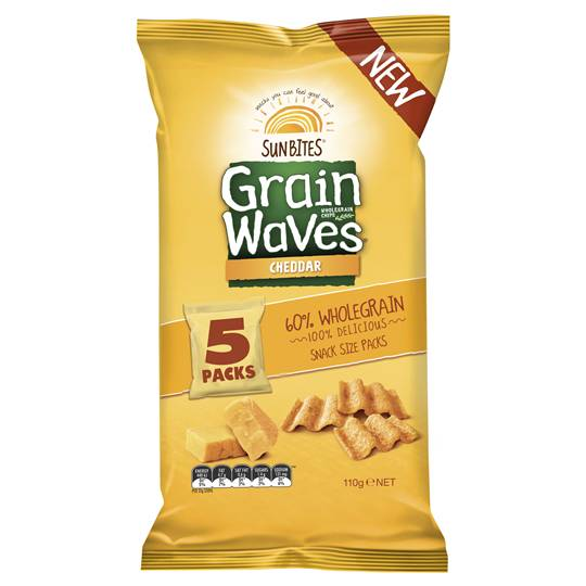 Sunbites Grain Waves Cheddar Cheese