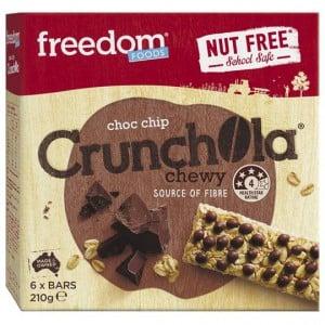 Freedom Crunchola Choc Chip Bars