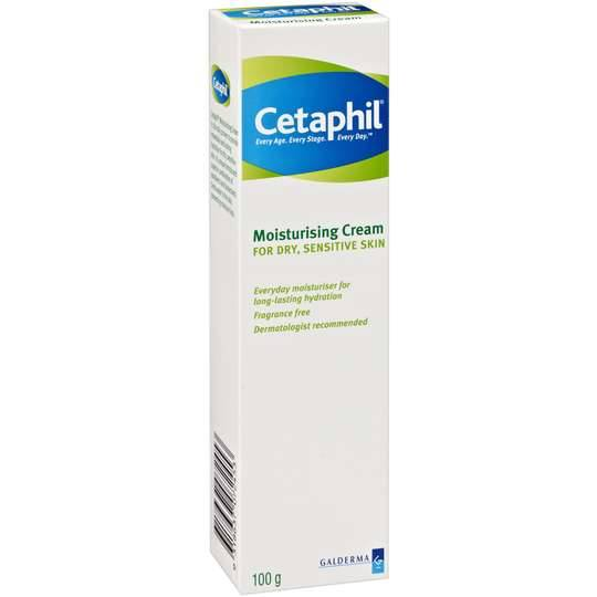 Cetaphil Facial Moisturiser Dry Sensitive Skin