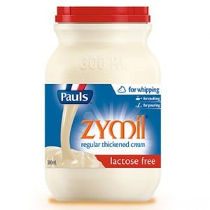 Pauls Zymil Thickened Cream Lactose Free